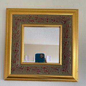 Vintage Solid Wood Mirror in excellent condition